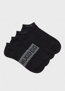 Набор носков Hugo Boss черного цвета, фото