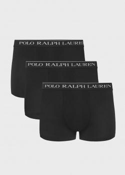 Черные боксеры Polo Ralph Lauren с логотипом, фото