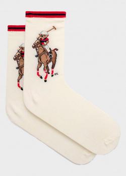Женские носки Polo Ralph Lauren из смесового хлопка, фото