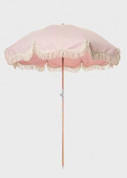 Пляжный зонт Business & Pleasure Co. LLC 180х230см в полоску , фото