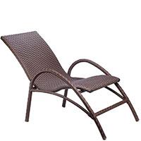 Кресло Pradex Аризона коричневого цвета, фото