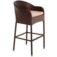 Кресло Pradex Барное коричневого цвета, фото
