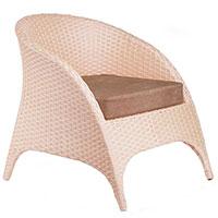 Кресло Pradex Гольф бежевого цвета, фото