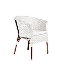Кресло Pradex Неаполь белого цвета, фото