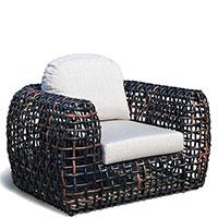 Кресло Skyline Design Dynasty черного цвета, фото