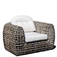 Кресло Skyline Design Dynasty серого цвета, фото