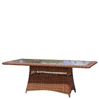Стол обеденый Skyline Design Ebony из искусственного ротанга, фото