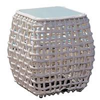 Столик приставной Skyline Design Dynasty серого цвета, фото