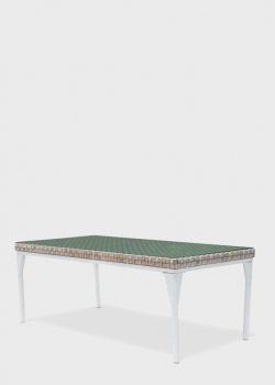 Прямоугольный стол Skyline Design Brafta с стеклянной столешницей, фото