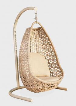 Подвесное кресло на стойке с мягкой подушкой для отдыха на террасе Skyline Design Journey, фото