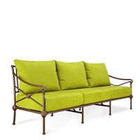 Лаунж-диван Pradex Верона оливкового цвета, фото