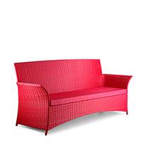 Диван Pradex Патио красного цвета, фото