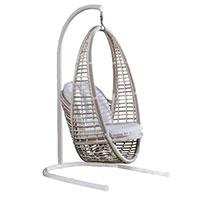 Кресло подвесное Skyline Design Heri Hanging бежевое, фото