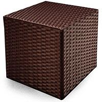 Пуф Pradex Куб из искусственного ротанга , фото