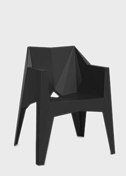 Кресло Vondom Voxel полигональной формы , фото