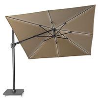Зонт для сада и террас Platinum Challenger T2 Glow с подсветкой, фото