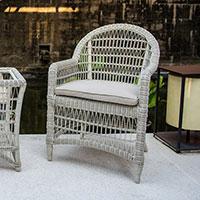 Кресло обеденное Skyline Design Arena белого цвета, фото