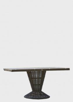 Обеденный стол Skyline Design Spartan со стеклянной столешницей, фото