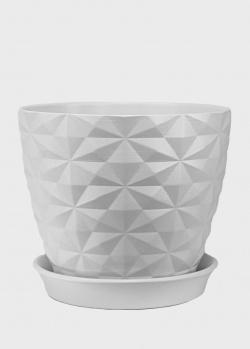 Керамическое кашпо Ceramika Design Cristal высотой 20 см, фото