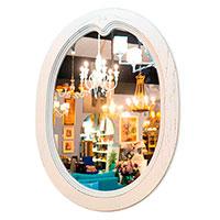 Зеркало Capanni овальной формы 80х60см, фото