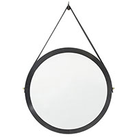 Настенное зеркало JNL Odeillo круглое, фото