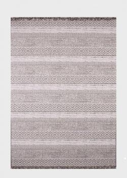 Безворсовый ковер SL Carpet Gazebo с узором (улица, дом) 300х400см, фото
