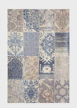 Голубой ковер для дома SL Carpet Modern Kilim из гобелена 160х230см, фото