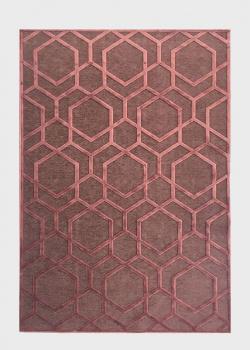 Бордовый ковер SL Carpet Farashe с орнаментом (для дома) 160х230см, фото