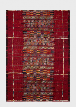 Красный ковер SL Carpet Afrika с этническим орнаментом (улица, дом) 160х230см, фото