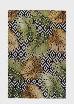 Ковер SL Carpet Jungle с растительным рисунком (улица, дом) 133х190см, фото