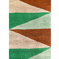 Цветной ковер Ґушка прямоугольной формы 120х190см, фото