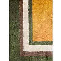 Разноцветный ковер Ґушка ручной работы 155х207см, фото