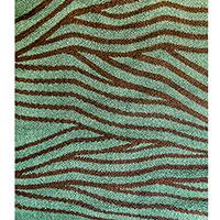 Квадратный ковер Ґушка двухцветный 200х220см, фото