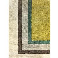 Шерстяной ковер Ґушка с рисунком 152х187см, фото