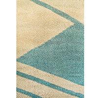 Ковер из шерсти Ґушка двухцветный 118х185см, фото
