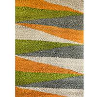 Плетенный ковер Ґушка многоцветный 120х175см, фото