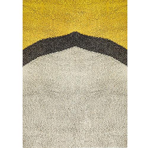 Ковер Ґушка из шерсти 161х154см, фото