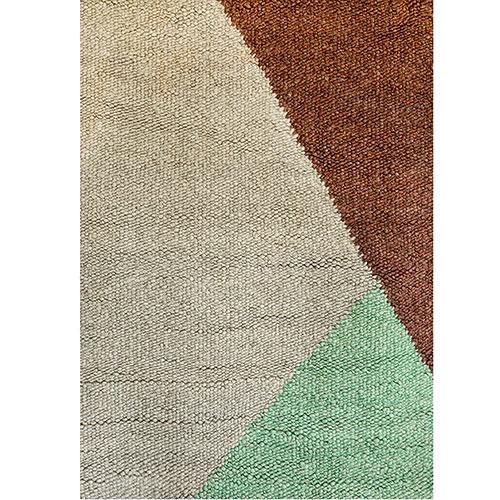 Квадратный ковер Ґушка трехцветный 142х180см, фото