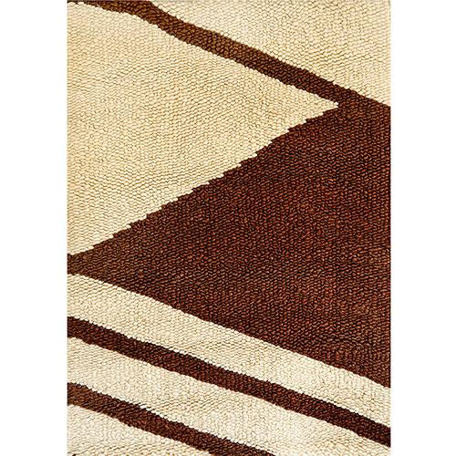 Двухцветный ковер Ґушка с рисунком 120х192см, фото