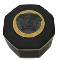 Фарфоровая шкатулка Rosenthal Versace Gorgona с золотыми делатями, фото