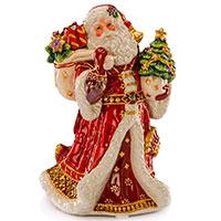 Музыкальная статуэтка в виде Деда Мороза Palais Royal Праздник ренессанса, фото
