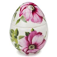Декоративная шкатулка-яйцо Palais Royal Цветы, фото