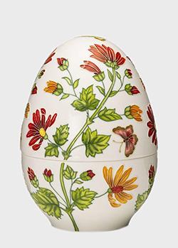 Шкатулка-яйцо Palais Royal Мальвы18см, фото
