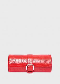 Футляр для хранения часов Rapport Brompton красного цвета, фото
