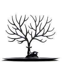Подставка для украшений и аксессуаров Qualy Олень черного цвета, фото