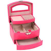 Шкатулка для украшений Solo Massima розового цвета, фото