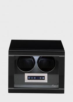 Шкатулка для подзавода и хранения часов Rapport Formula черного цвета, фото