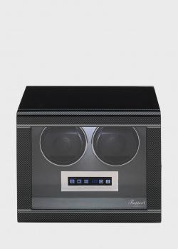 Шкатулка для подзавода и хранения часов Rapport Formula на 2 единицы, фото