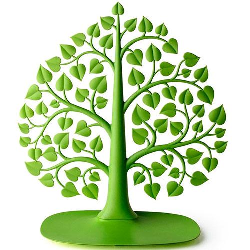 Подставка для украшений и аксессуаров Qualy Дерево бодхи зеленого цвета, фото