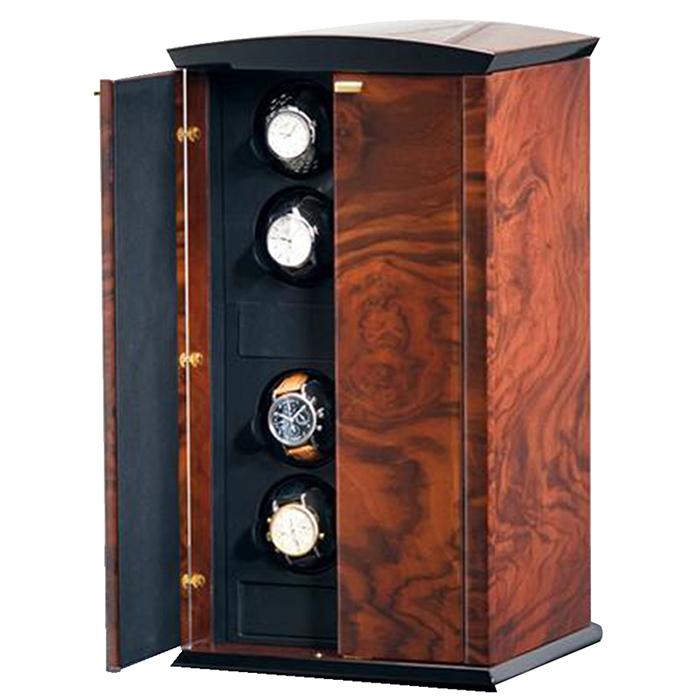 Шкатулка с автоподзаводом для хранения часов Elma Motion Corona VIII Piano Glass на 8ед